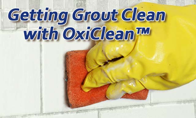 getting grout clean