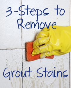 Cleaning Grout with Oxiclean