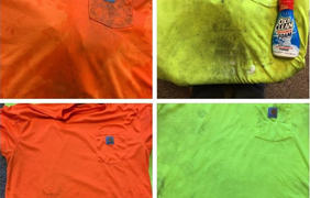 OxiClean Gets Hardworking Stains Out