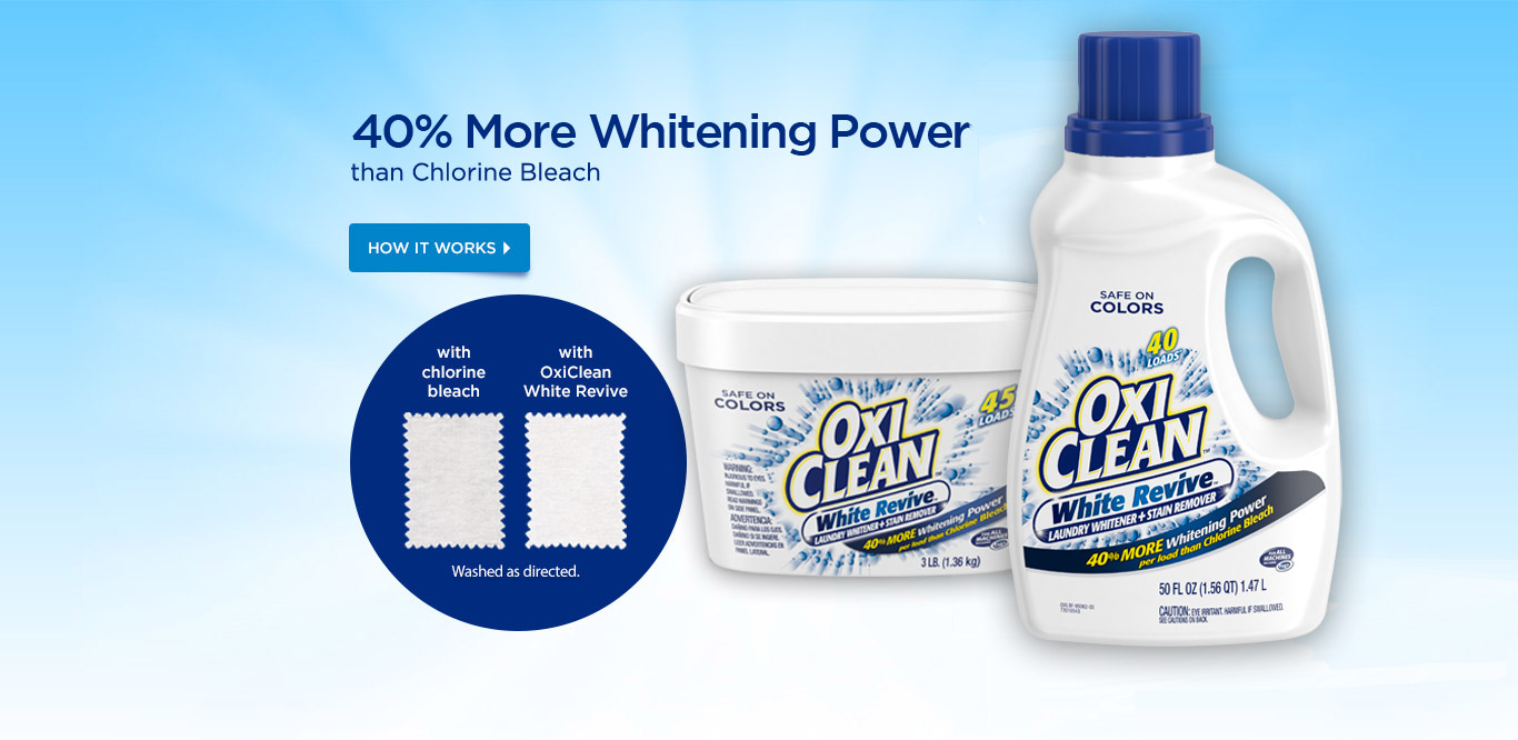 Oxiclean Home Page