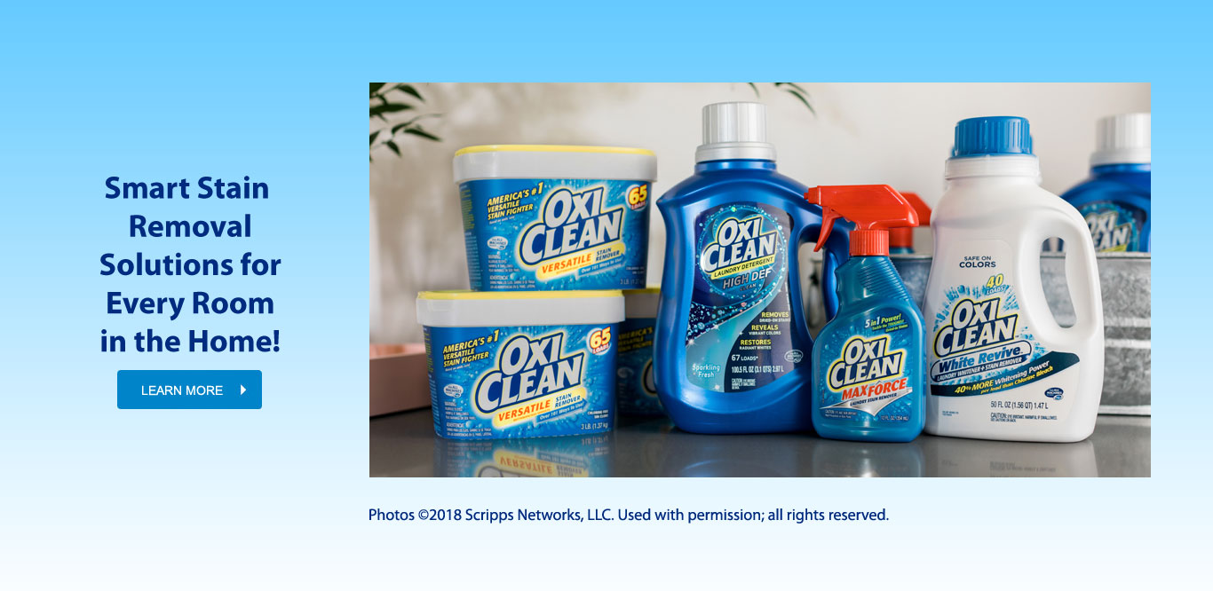 OxiClean – Home Page