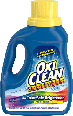 Liquid Stain Remover Oxiclean 2 In 1 Stain Fighter