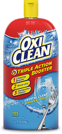 Dishwasher Rinse Aid Amp Booster Oxiclean Triple Action