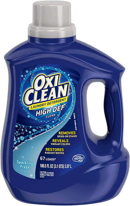 Laundry Detergent High Def | OxiClean™ Fresh Scent