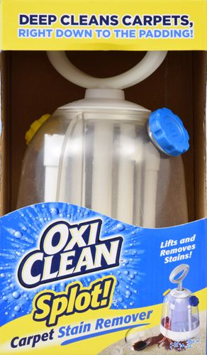OxiClean Splot!