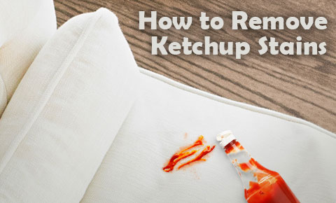 How to remove ketchup stains with OxiClean.