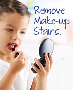 How to remove makeup stains with OxiClean.