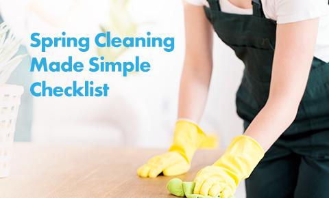 Spring Cleaning Made Simple Checklist