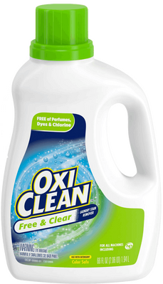 OxiClean Free & Clear Laundry Stain Remover