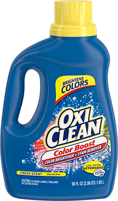OxiClean Color Boost Color Brightener plus Stain Remover Liquid