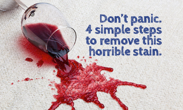 Wine Stain Removal