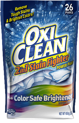 Oxiclean Oxiclean 2in1 Stain Fighter Paks